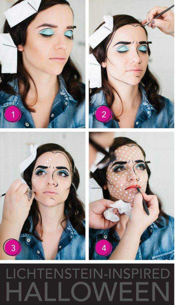 hallloween scary makeup tutorial