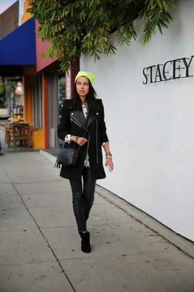 black coats to wear in winter