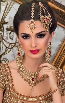 Bridal head jewellery
