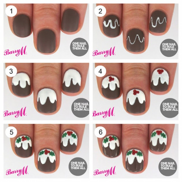 Christmas Nail Tutorials You Need To Copy This Season 12