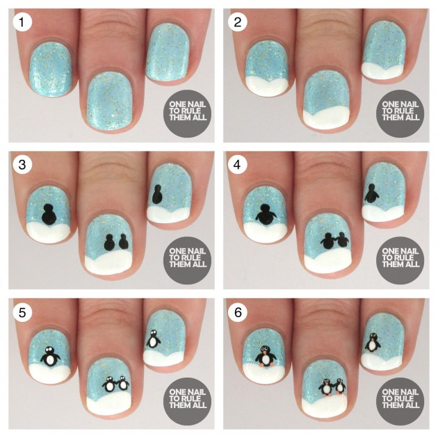 Christmas Nail Tutorials You Need To Copy This Season 13