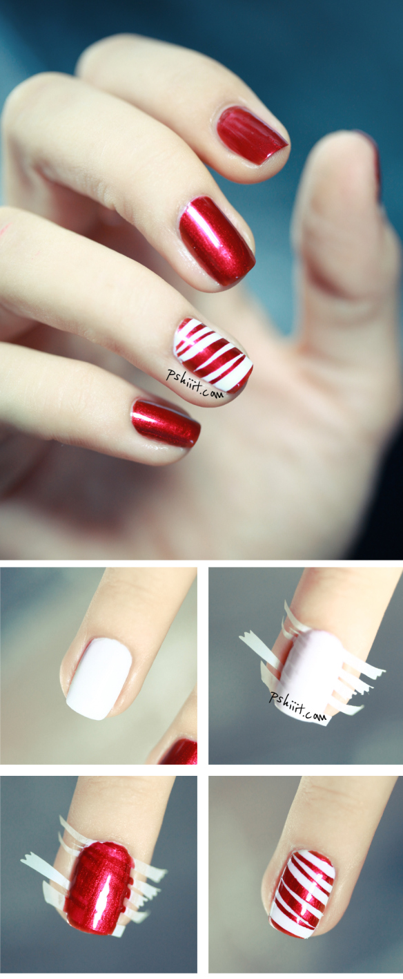 Christmas Nail Tutorials You Need To Copy This Season