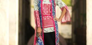 Khaddar Print Shalwar Kameez By Shariq Textiles 2016