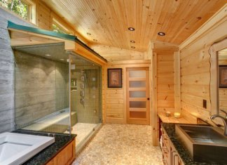 Luxury Rustic Bathroom Designs For Your Comfort