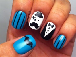 Mustache Nail Design Ideas To Try This Season