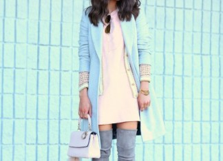 Pastel Color Clothing To Wear In Winter Season