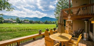 Rustic Deck Designs For Memorable Time