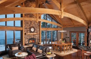 Rustic Living Room Designs For Cold Areas