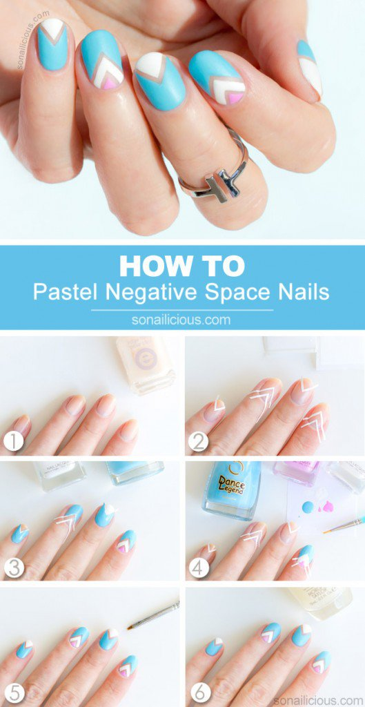 Step By Step Winter Nail Tutorials To Copy This Season 13
