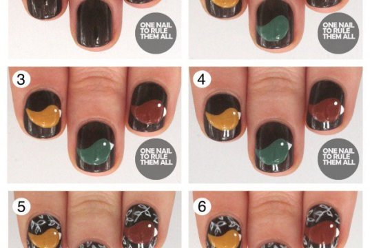 Step By Step Winter Nail Tutorials To Copy This Season