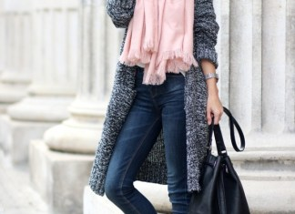 Warm Scarf Designs For Women To Wear In Cold Days