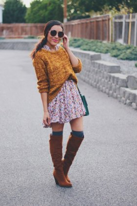 Winter Outfit Knee Boots To Wear This Cold Season