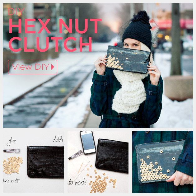 DIY clutches