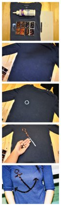 DIY custom sweater