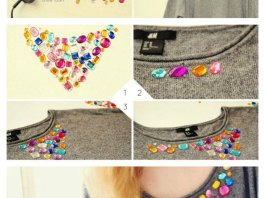 DIY Embellished Women Sweater Ideas To Customize Your Sweater