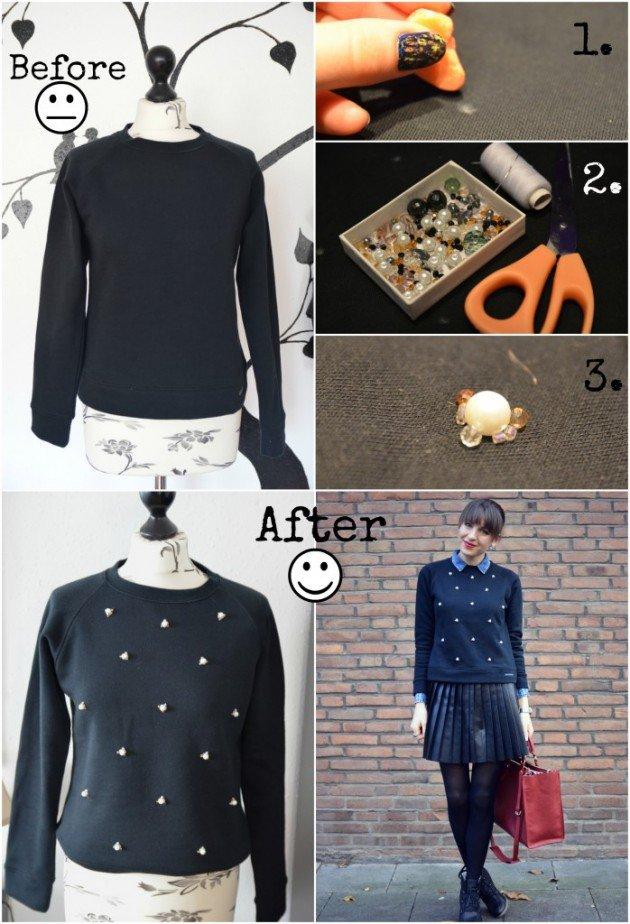 DIy sweater ideas