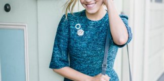 How To Style Broach With Winter Outfits