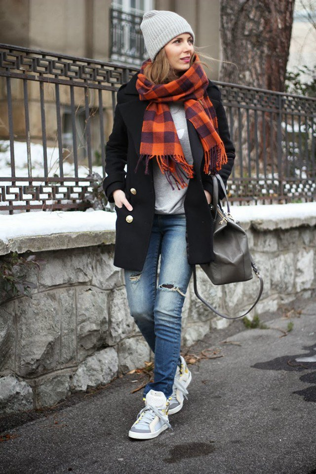 winter hat with outfits