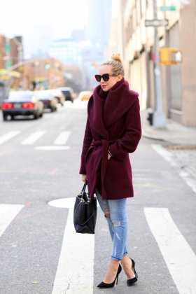 Women Robe Coat Designs You Should Try This Season