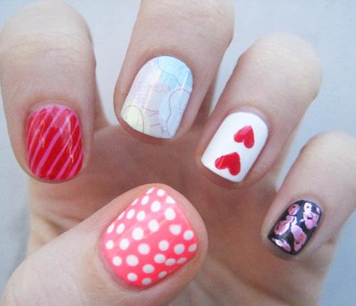 Valentines nail ideas