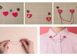 Heart Shaped DIY Projects Valentines Day Ideas