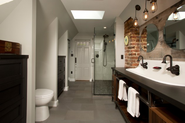 industrial bathroom lighting with complete designs - Industrial Bathroom Lighting