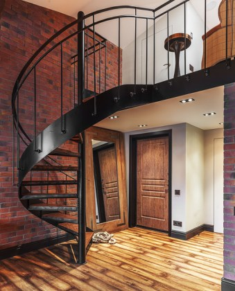 Industrial stair case ideas