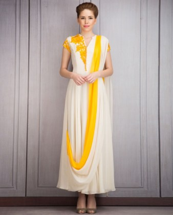 Long Length Dresses Manish Malhotra Collection 2016