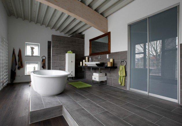 Industrial bathroom industrial home designs