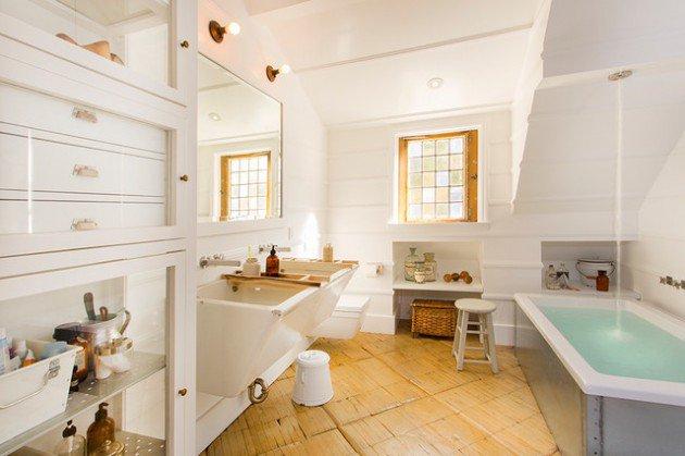 Stylish Industrial Bathroom Interior Home Designs 2016