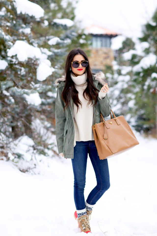 Winter parka trend
