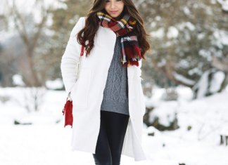 Winter White Coat Outfit Ideas Women Should See