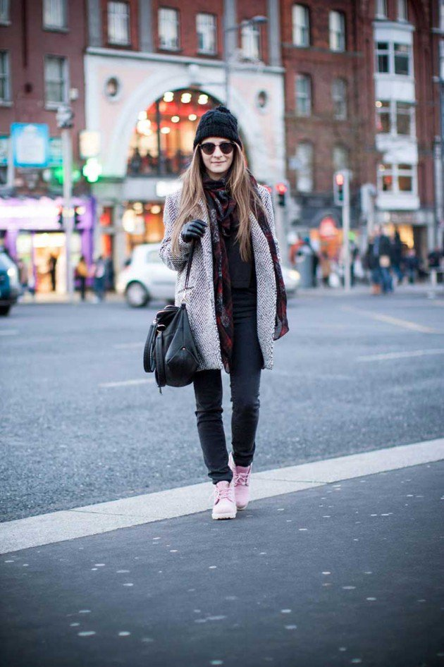 Women Timberland Boots Street Style Looks 2016