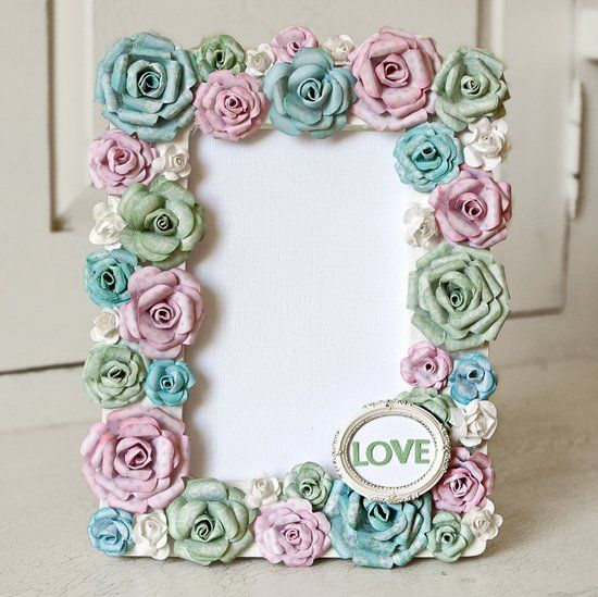 Handmade photo frames