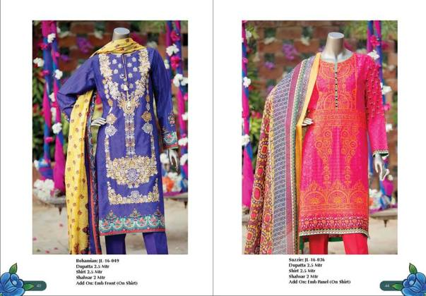 J. Har Rang Apna Summer Collection 2016