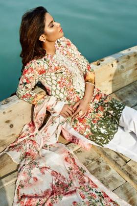 Beech Tree Spring Summer Floral Pattern Lawn 2016