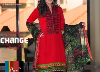 Casual Summer Lawn Shalwar Kameez Change 2016