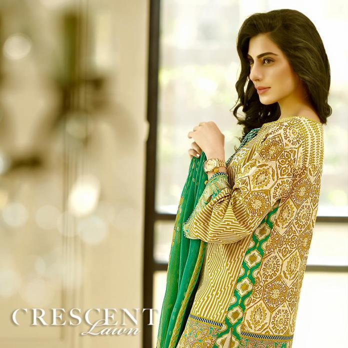 Crescent Lawn Faraz Manan Summer Dresses 2016