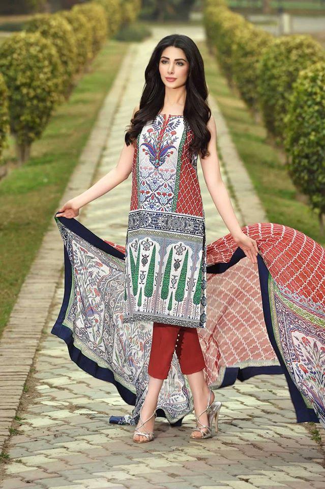 Kamal Lawn Shalwar Kameez Dresses