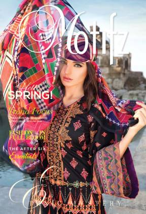 Motifz Embroidered Lawn Fancy Dresses Spring-Summer 2016