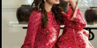 Nomi Ansari Chiffon Summer Collection Shariq Textiles 2016