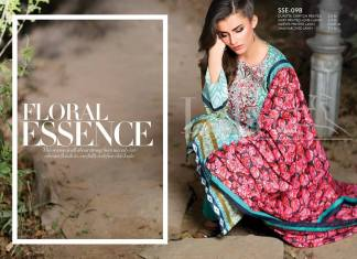 Sana Samia Embroidered Summer Lawn Collection 2016