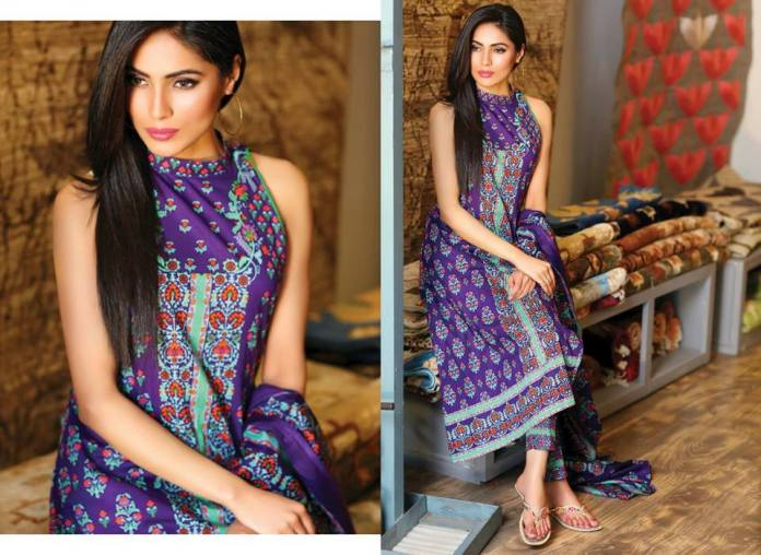 Subhata Print Summer Collection Shariq Textiles 2016
