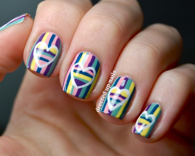 Striped Nail Designs