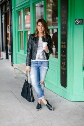 Casual Ripped Jeans Women Wear Street Style Fashion