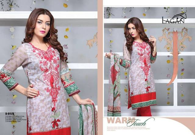 Lagan Embroidered Lawn