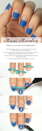 simple nail tutorials stepstep guide for summer season