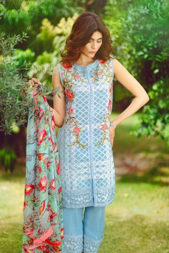 Suffuse Summer Formal Wear By Sana Yasir 2016