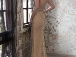 Black Pearl Evening Wear Galia Lahav Collection 2016