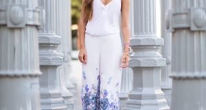 Printed Palazzo Pants For Summer Casual Wearing